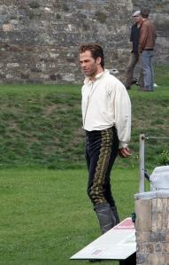 Chris Pine como príncipe da Cinderela!