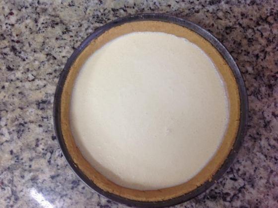 Cheesecake antes da goiabada!