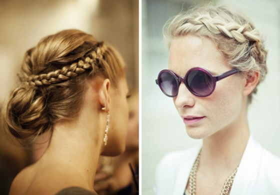 wedding-hair-ideas-side-braids-plaits