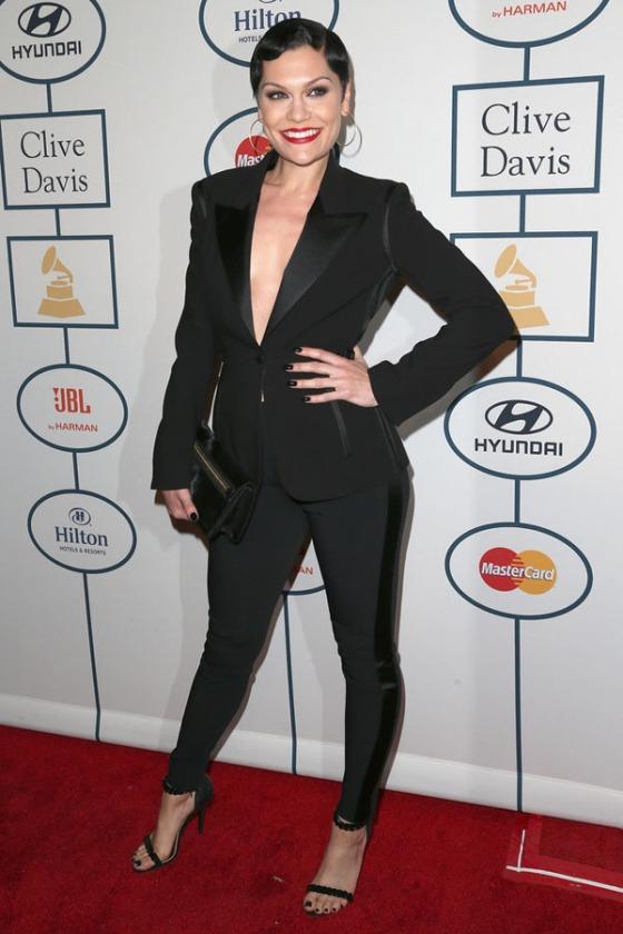 Jessie-J-Clive-Davis-Pre-Grammy-Gala-2014