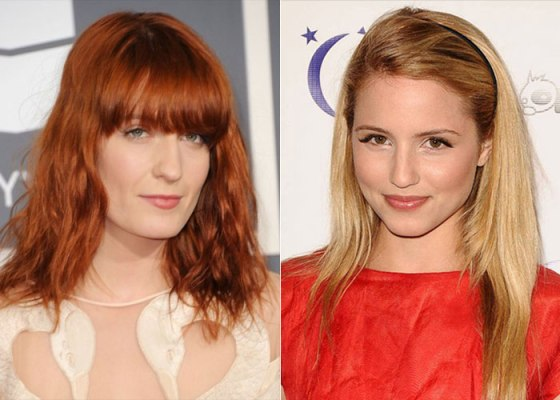 27 anos - Florence Welch e Diana Agron