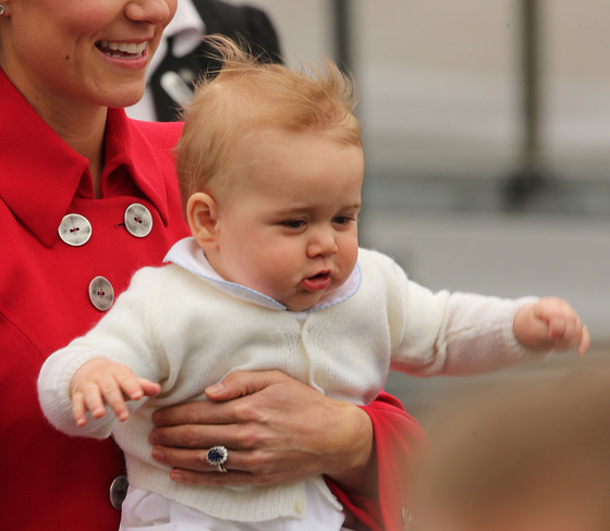 Prince George Goes Bye Bye on Official Visit to New Zealand