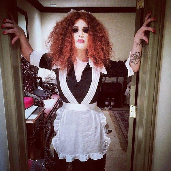 Kelly Osborne de Magenta do filme Rocky Horror Freaky Show