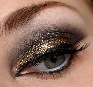 glitter make