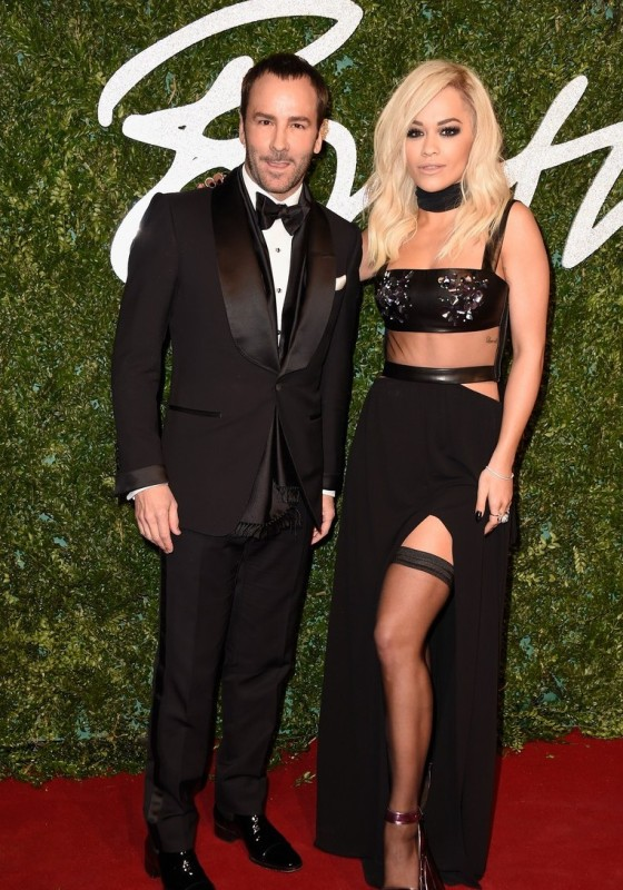 Tom Ford e Rita Ora